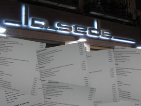 Renovación de la carta del Restaurante La Sede - © Cucharete.com
