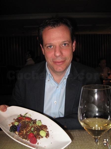 Cucharete disfrutó de la cocina de Charo Val en Los Martes con Estrella del Restaurante Éccola de Madrid