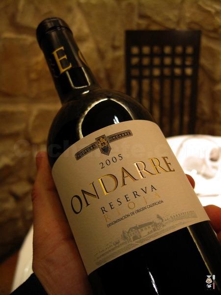 Rioja Reserva 2005 Gratis en Zarracín - © Cucharete.com