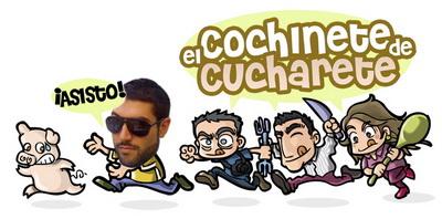 Roberto asiste al Cochinete de Cucharete