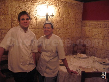 Sagrario Meño y Gonzalo de Pedro - Chefs del Restaurante El Pedrusco de Aldealcorvo (Madrid) - © Cucharete.com