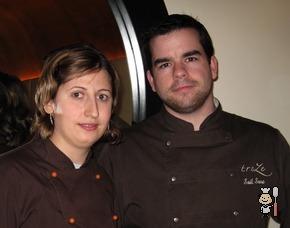 Saúl Sanz y Elena Ursu - Chefs del Restaurante Treze (Madrid)