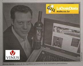 Vinete de Cucharete en el Diario de Alcalá, Mobuzz TV y Vinus Televisión